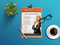Free Private Manager CV Template