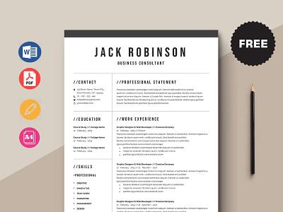 Free Business Consultant Resume Template free cv cv template freebie curriculum vitae free cv template free resume template freebies cv resume