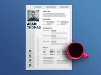 Free Clean Modern Resume Template