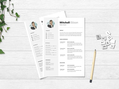 Free Basic Microsoft Word Resume Template