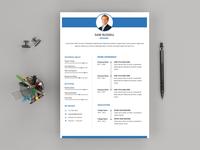 Free Modern Word Resume Template