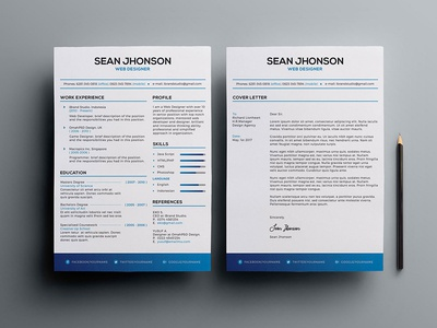 Free Resume and Cover Letter Template psd freebie curriculum vitae cv free cv template free resume template freebies resume