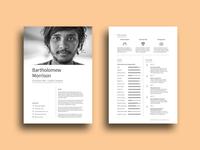 Free Designer Resume Template