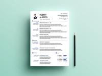 Free Marketing CV Template