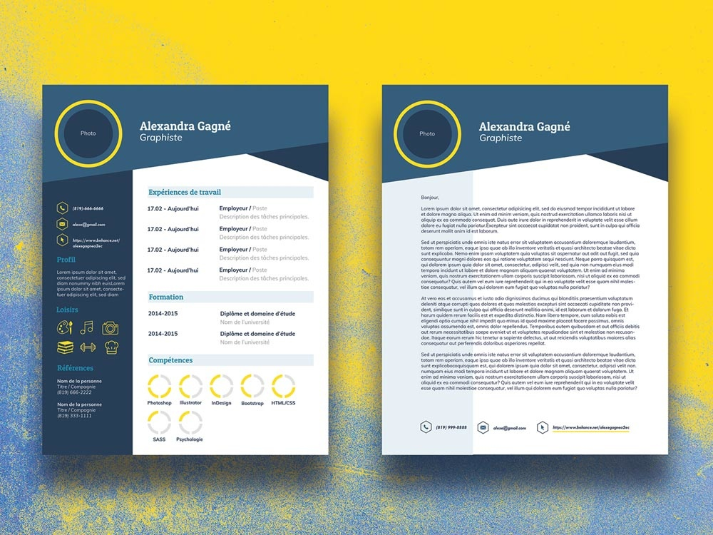 free-infographic-cv-template-with-cover-letter-page Template Cover Letter Download Free Sample Wsbz on