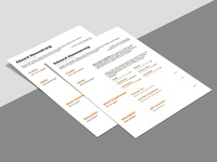 Free Technical Special Resume Template