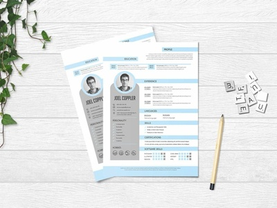 Free Clean General Resume Template