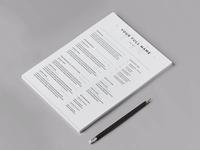 Free Multipurpose Curriculum Vitae Template