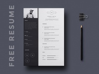 Free Unique Resume Template