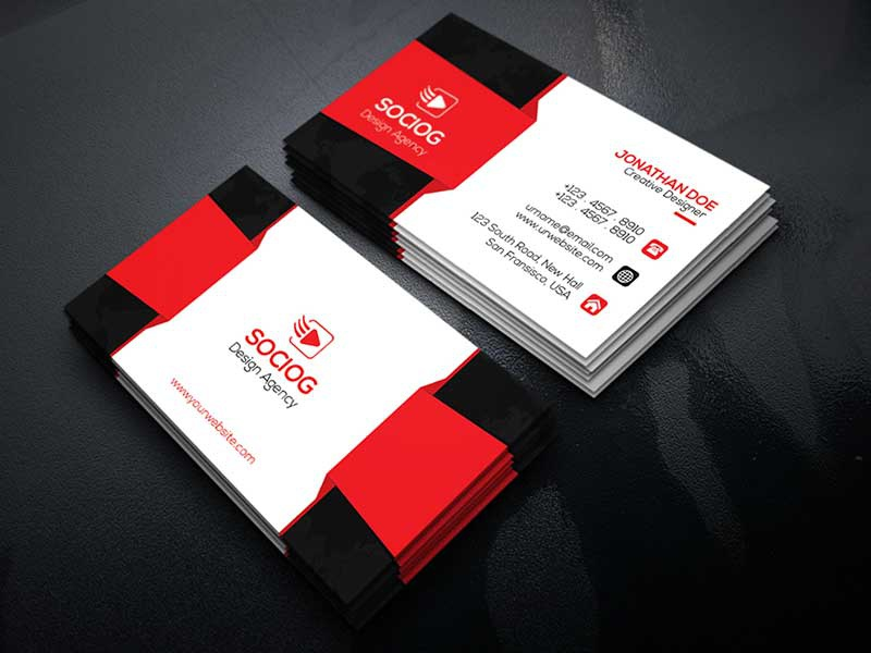 Corporate business card by hamim khan dribbble this is a corporate business card design easy customizable and editable corpotate business card size 35x2 inchi cmyk colordesign in 300 dpi resolution reheart Gallery