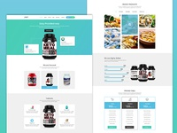 Tagusi Health Supplement PSD Template