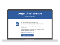 "DullesJustice.org ""Legal Assistance"" wireframe - Part 3 of 3"