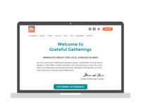 Redesigning GratefulGatherings.org - Part 1