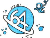 Sprint 64 Sign