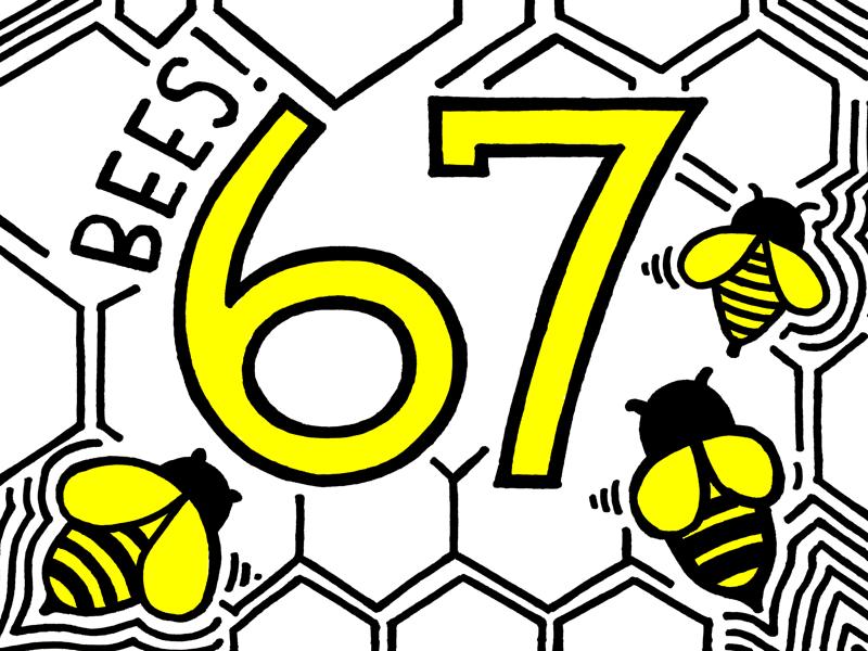 Sprint 67 Sign uxdesign teamwork teambuilding productdesign oneteamonedream lowfi kanban sprint bees