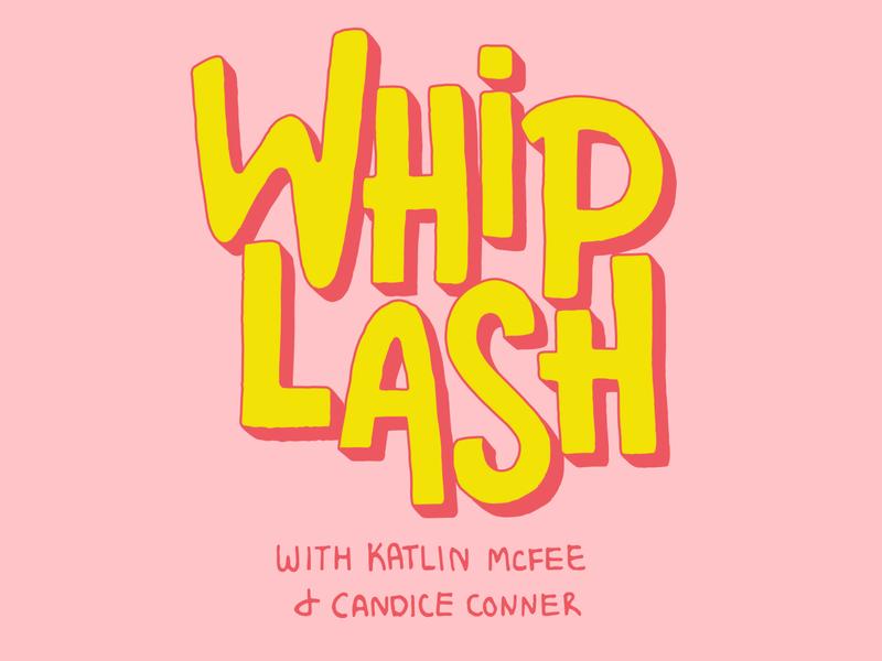 Whiplash Logo hand lettering brand identity design branding typography illustrator vector logo lettering illustration design