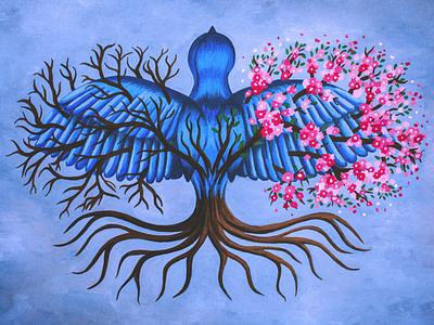 Passenger Album cover album cover album art poster illustrative illustration painting gouache design