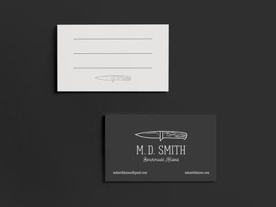 M.D. Smith Benchmade Knives
