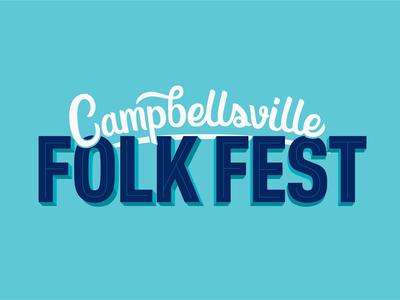 Folk Fest Lettering