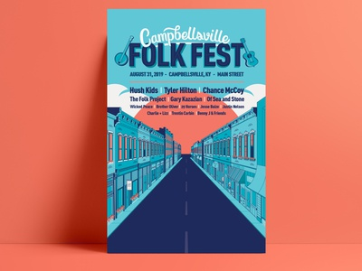 Final Folk Fest Poster