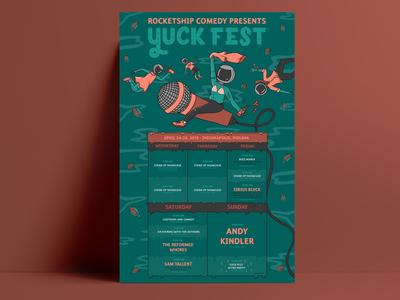 Yuck Fest Final Poster