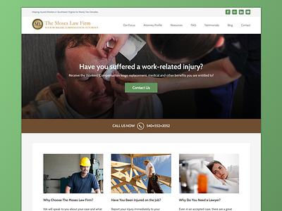 Law Firm Web Design workers comp neutrino design ux ui web design law firm