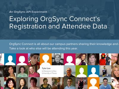 OrgSync Connect - API Experiment