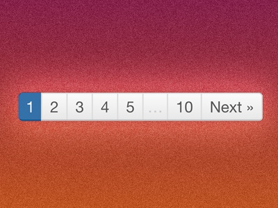 Pagination (sometimes it's the little things)