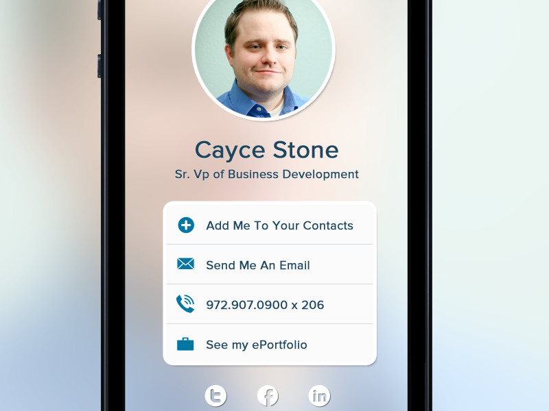 Contact dropoff point landing page contacts