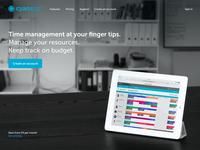 Cyan app / Website concept