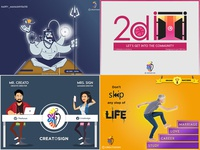 2018's Top 4 graphics illustrator creatosign creativity graphic design illustration