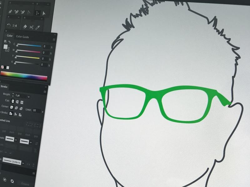 Illustrated Profile Picture