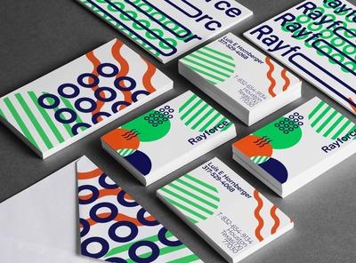 Rayforce consultancy wordmark branding