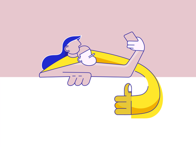 Selfie button logo vector friends of type engagement card design ux ui illustration friendship friends selfie