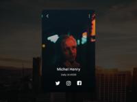 Daily UI 006 - Profile