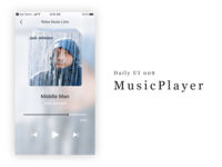 Daily UI 009 - MusicPlayer