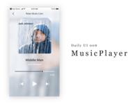 Daily UI 009 - MusicPlayer