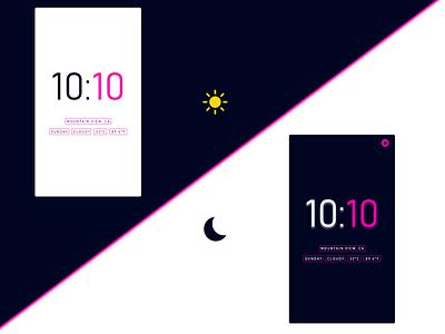 Flutter Clock App Design uidesign design mobile ui app clock flutter