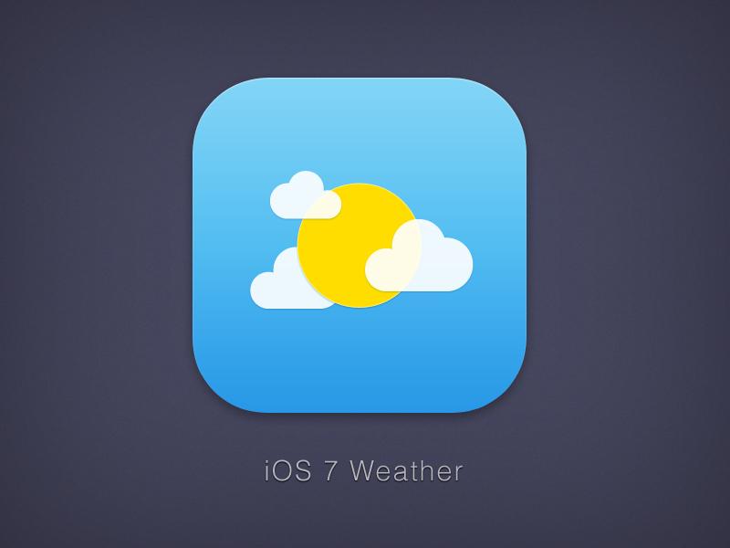 Ios7 weather
