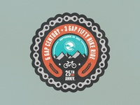 Cycle North Georgia Badge version 1