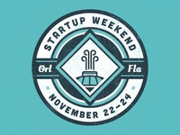 Startup Weekend Orlando Badge 1