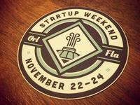 Startup Weekend Sticker