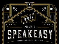Speakeasy invite rejected