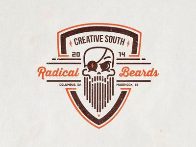 Radical Beards Club Badge