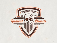 Radical Beards Club Badge