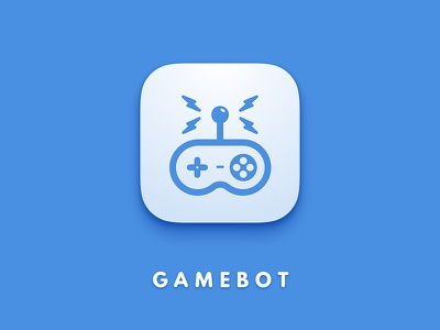 Gamebot Icons games icon fun sketch gamebot controller app ui game robot video videogame