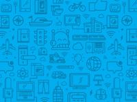 Parse IoT Icon Pattern