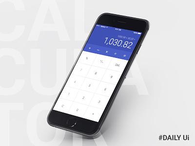 Calculator  web challenge mudshock austin 100 days dailyui ui calculator