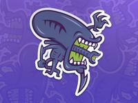 Xenomorph - Slap! Stickers