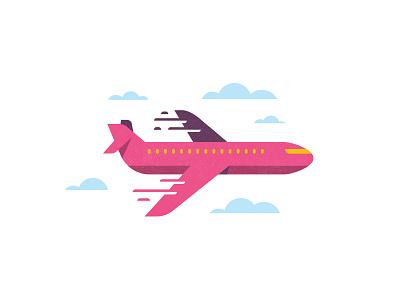 Plane & Simple mudshock austin simple design texture clouds plane vacation airplane
